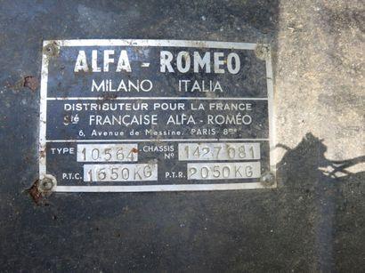 ALFA ROMEO MONTREAL  Châssis n° 1427081  Carte grise française  Même propriétaire...