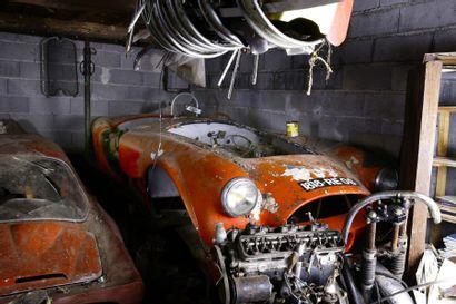 1958 AC BRISTOL  Roadster ACE  Châssis n° BEX 483  Moteur n° 100D2 866  Ex Françoise...