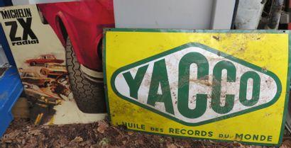 Plaque YACCO et Plaque MICHELIN ZX