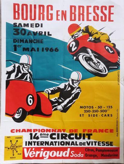 Affiche Bourg en Bresse Samedi 30 Avril au...
