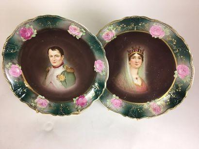 Napoléon 1ER et l'Impératrice Joséphine Deux...