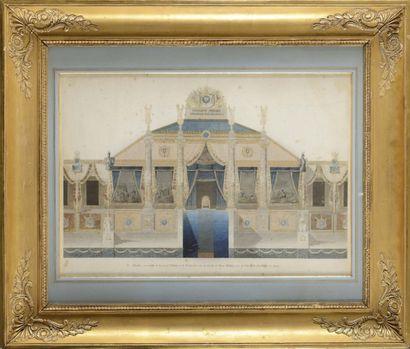 Charles PER CIER (Paris, 1764 - 1838) et...