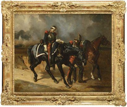 Alfred DE DREUX (Paris, 1810 - 1860) «Le...