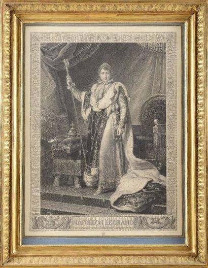 Baron GERAR D, d'après « Napoléon Ier le grand. L'Empereur Napoléon Ier en tenue...