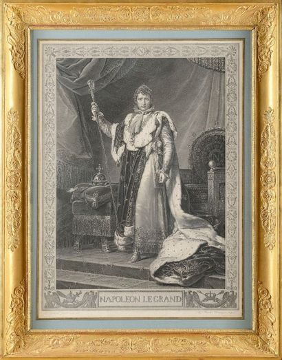 J.L.DAVID, d'après « Le couronnement de l'Empereur...