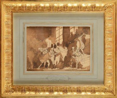 François BOUCHOT (1800-1842) «Coup d'Etat...