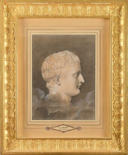 Anne-Louis GIRODET de ROUCY TR IOSON (1767-1824),...