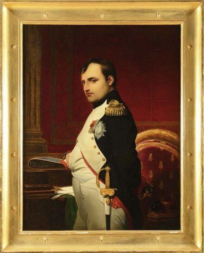 Paul Delaroche (1797-1856), attribué à «L'empereur Napoléon Ier dans son cabinet...