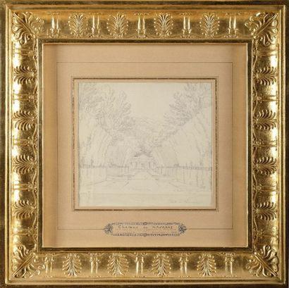 Constant BOURGEOIS (1767-1841) « Le pavillon...