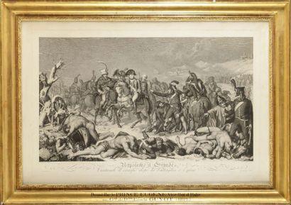 « Napoleone il Grande vistendo il campo dopo...
