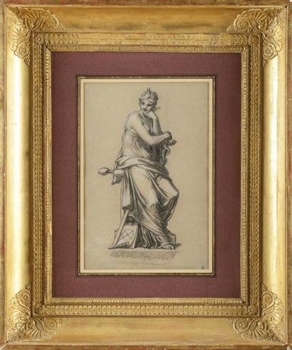 Pierre-Paul PRUD'HON (Cluny, 1758-1823) «Allégorie...