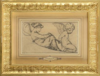 Pierre-Paul PRUD'HON (Cluny, 1758-1823) Amour...