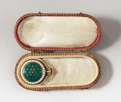 Rare montre ayant appartenu à l'Impératrice Marie-Louise, ou de présent Montre à...