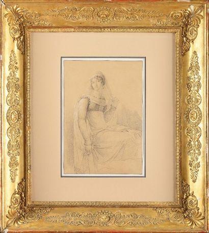 Louis LA FITTE (1770-1828) «Portrait présumé...