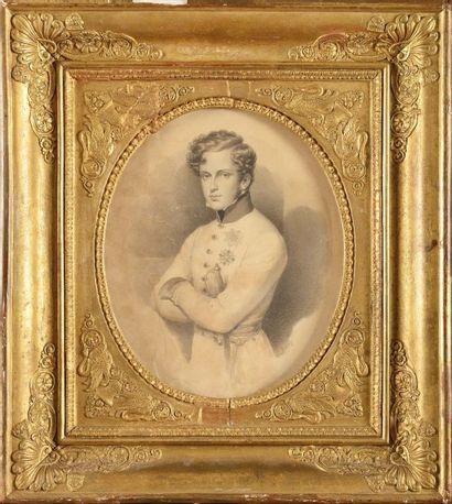 Daffinger d'après, E cole française du XIXème...