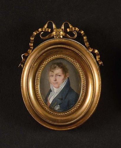 Paolo-Ferdinando QUAGL IA (1780-1853) «Portrait...