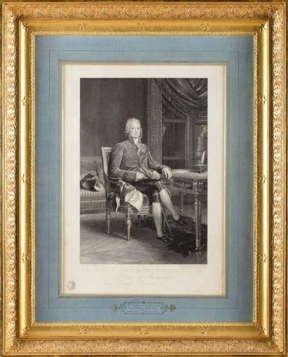 Baron GERAR D, d'après « Charles Maurice...