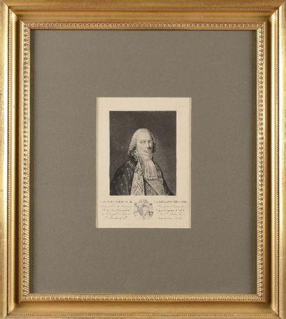 PRUDHON, d'après « Charles Maurice de Talleyrand...