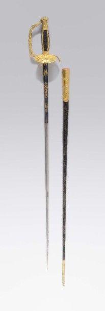 Epée ayant appartenu à Henri Clarke, duc...