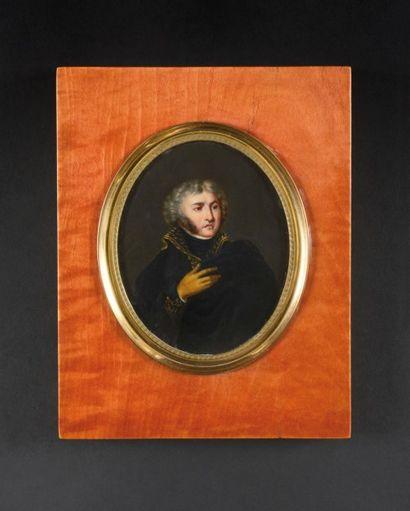 Ecole Française du XIXème siècle «Portrait...
