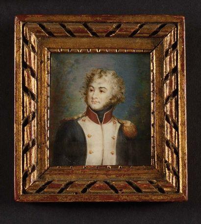 J.B.AUBR Y E cole française du début du XIXème...