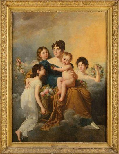 Robert LE FEVRE (1755-1830) «La Marquise...