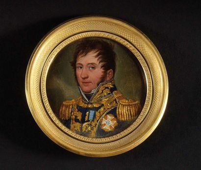 cole Française vers 1810. «Portrait du général...