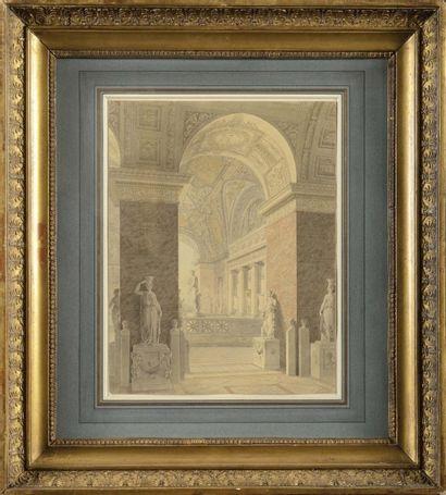 Charles PER CIER (Paris, 1764 - 1838) «Projet...