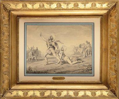 Horace VERNET (1789-1863) «Combat antique»...