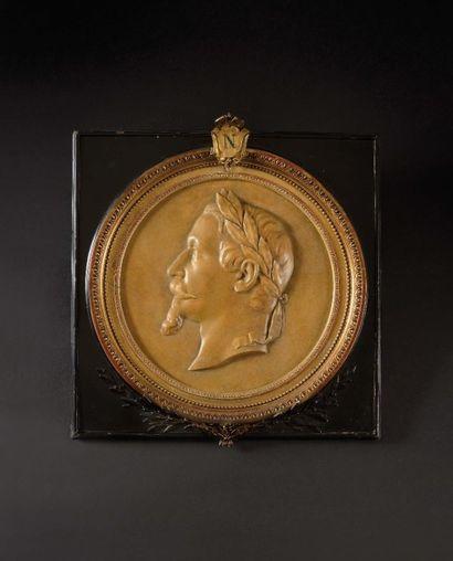 « L'Empereur Napoléon III ». Portrait de...