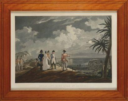 MART INET , d'après « Bonaparte dans l'île...