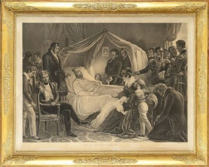 Carl STEUBEN, d'après « La mort de Napoléon...