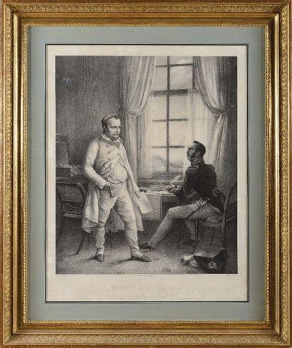STEUBEN, d'après « Napoléon Ier à Ste Hélène,...