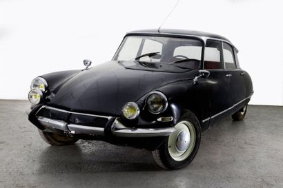 1965 CITROEN DS 19 Pallas Châssis n° 4436406...