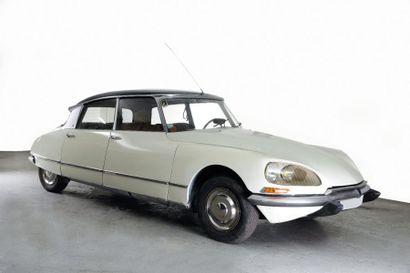 1969 CITROEN DS 20 PALLAS Châssis n° 00FO2730...