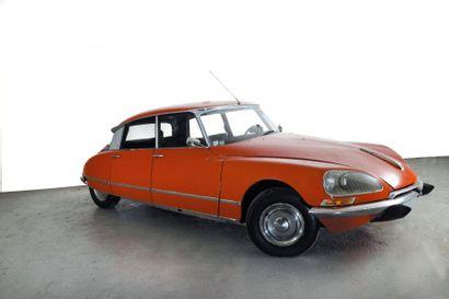 1971 CITROEN DS 21 PALLAS Châssis n° 02FA0209...