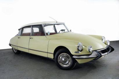 1966 CITROEN 19 PALLAS Châssis n° 4314331...
