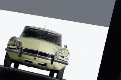 1966 CITROEN 19 PALLAS Châssis n° 4314331 Boite de vitesse hydraulique Carte grise...
