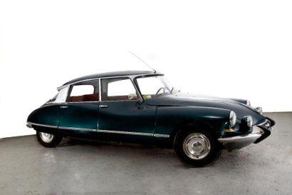1967 CITROEN ID 19 Châssis n° 3771393 Carte grise française