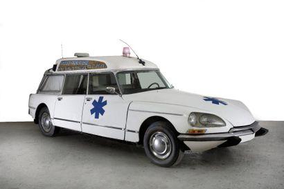 1973 CITROEN DS Ambulance Châssis n° 8407624...