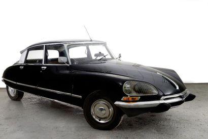1974 CITROEN DS 23 PALLAS Châssis n° 01FE1057...