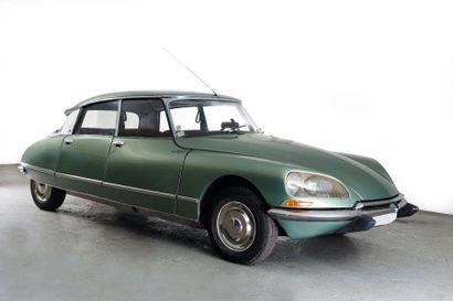 1971 CITROEN DS 20 Châssis n° 4708603 Boite...