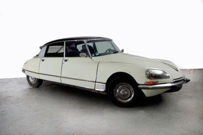 1972 CITROEN DS 23 IE PALLAS Châssis n° 00FO2730...