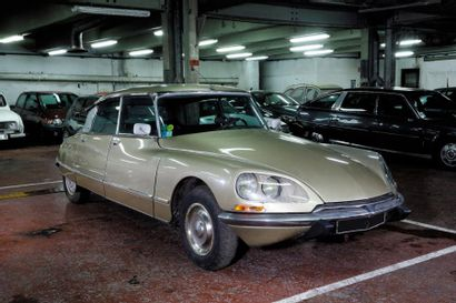 1972 CITROEN DS 21 IE PALLAS Châssis n° 03FA0075...