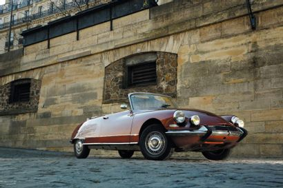 1967 CITROEN DS 21 LHM Cabriolet réplique...