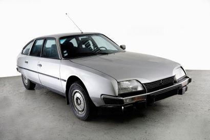 1980 CITROEN CX 2400 GTI Châssis n°05ME2729...