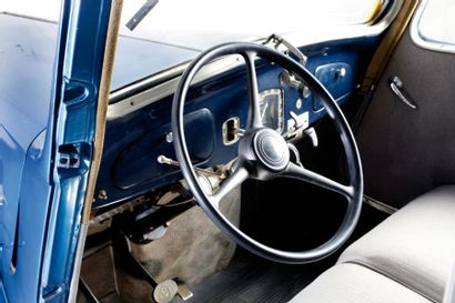 1935 CITROEN TRACTION 7C Châssis n° 064114 Carte grise française