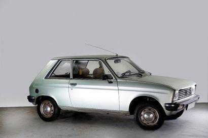 1981 PEUGEOT 104 Z Châssis n° 6000419 Carte...