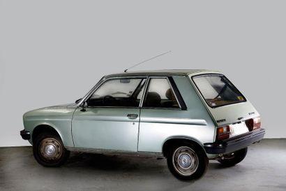 1981 PEUGEOT 104 Z Châssis n° 6000419 Carte grise française