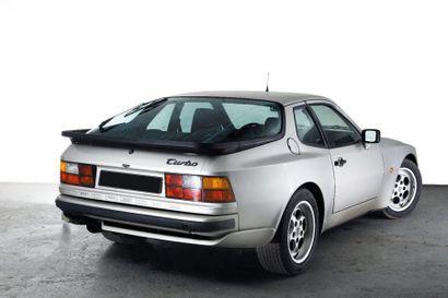 1985 PORSCHE 944 TURBO Châssis n° WPOZZZ952GN100473 Carte grise française
